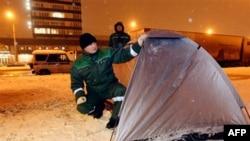 Оппозиционеры не получили палаток