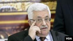 Presiden Palestina, Mahmoud Abbas menghadiri pertemuan Liga Arab di Doha, Qatar (28/5).