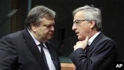 希臘財長星期一與歐盟舉行會議相討債務問題
