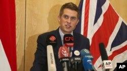 Ґевін Вільямсон, міністр оборони Великобританії