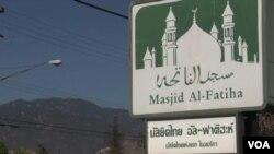 الفاتحه نخستین مسجد مسلمانان تایلندی در امریکا