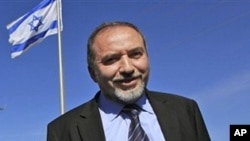 Israeli Foreign Minister, Avidgor Lieberman (file photo)