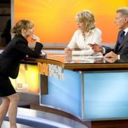 "Rachel McAdams, Diane Keaton and Harrison Ford in ""Morning Glory"""