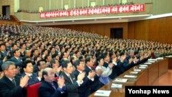 26일 북한이 30년만에 평양에서 소집한 전국 규모의 사법검찰기관 간부회의.