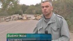 Srbi sprečili uklanjanje barikada