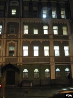 王希祥居住过的大楼,现为国际红十字会莫斯科代表处。