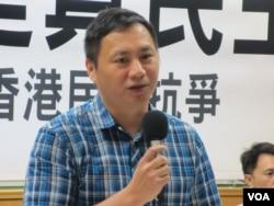 六四學運領袖、華人民主書院董事會主席王丹(美國之音張永泰拍攝)