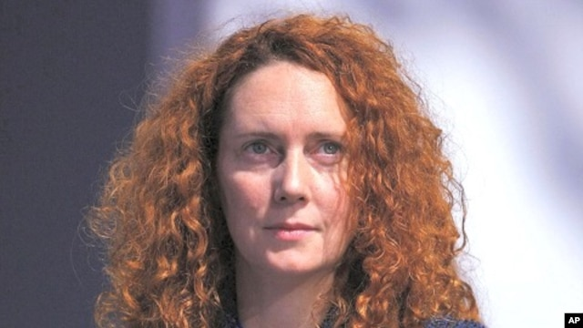 Chief Executive of News International, Rebekah Brooks ( file photo)