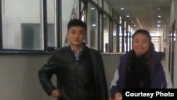 曹顺利(女)2010年在北京就被劳教提出诉讼(照片来源博讯)