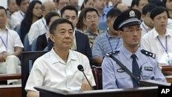 Bivši kineski zvaničnik Bo Šilaj u sudnici