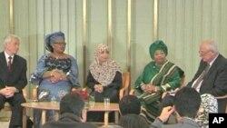 برندگان جایزۀ صلح امسال زنان اند