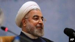 하산 로하니 이란 대통령이. (자료사진)