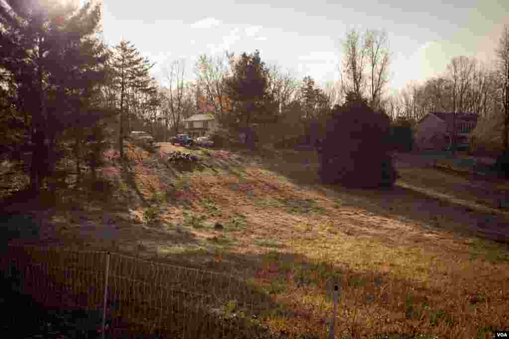 The farm in Amissville, Virginia. (Alison Klein/VOA)