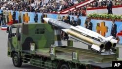 台灣自行研發、有航母殺手之稱的雄風3號導彈