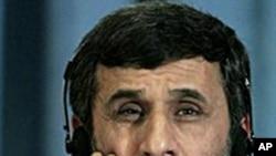 Iranian President Mahmoud Ahmadinejad (File Photo)