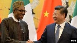 Shugaban Najeriya Muhammad Buhari da na China Xi Jinping