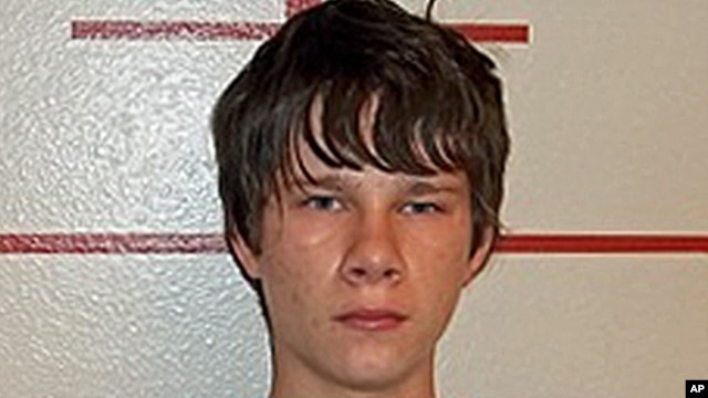 Grant Alan Acord, a teenager accused of planning to bomb his high school, May 24, 2013.