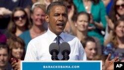 Barack Obama lleva una ventaja promedio de siete por ciento frente a su rival Mitt Romney.