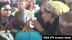 Luto imigrantes moçambicanos SAF