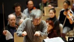 FILE - Seiji Ozawa