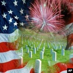 Les cimetières où reposent les anciens combattants sont à l'honneur...