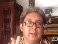 Direktur Riset INDEF, Berly Martawardaya. (Foto: Nurhadi)