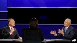 APTOPIX Campaign 2016 VP Debate