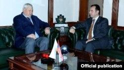 Viqen Sarkisyan və Anjey Kaspişik