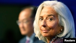 International Monetary Fund (IMF) Managing Director Christine Lagarde. (File Photo/Reuters)