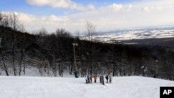رشد ورزش اسکی در بامیان