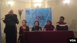 ابوالحسن نغمی, سوسائٹی آف اردو لٹریچر کے ماہانہ اجلاس سے خطاب کرتے ہوئے (فائل)