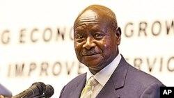 Rais wa Uganda Yoweri Museven