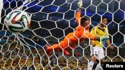 Dos golazos de James Rodríguez le dieron el triunfo a los colombianos.