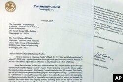 Фото листа міністра юстиції США Барра до Конгресу