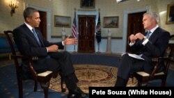 美國總統奧巴馬9月9日接受電視訪問談敘利亞問題。