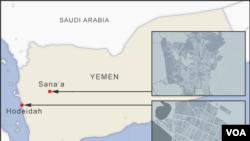 Hodeidah ak Sana'a, Yemen