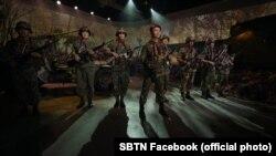 """Một nhạc cảnh được dàn dựng cho chương trình """"Những Người Lính Bị Bỏ Rơi"""" (SBTN)"""