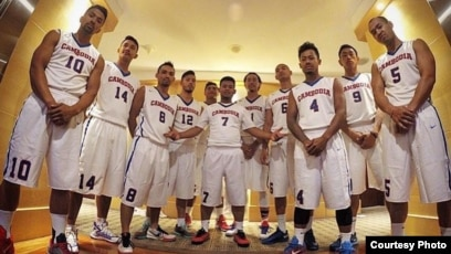 The Cambodia National Basketball Team prepares to compete in next month s Southeast  Asian Games in Kuala ab4dd4e19