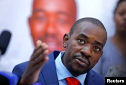 짐바브웨 야권 지도자 넬슨 차미사 '민주변화동맹(MDC)' 대표가 3일 하라레에서 기자회견을 열고 대선 결과에 불복한다고 밝혔다. 앞서 2일 짐바브웨 선거관리위원회는 에머슨 음난가그와 대통령이 50.8%의 득표율로 44.3% 얻은 차미사 대표를 꺾고 당선됐다고 밝혔다.