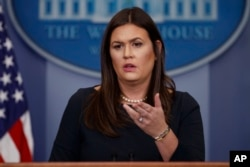 새라 허커비 샌더스 백악관 대변인