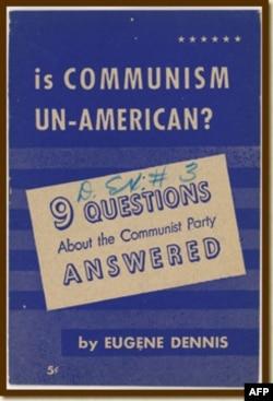 美共领袖为共产主义辩护的小册子(约1950年)
