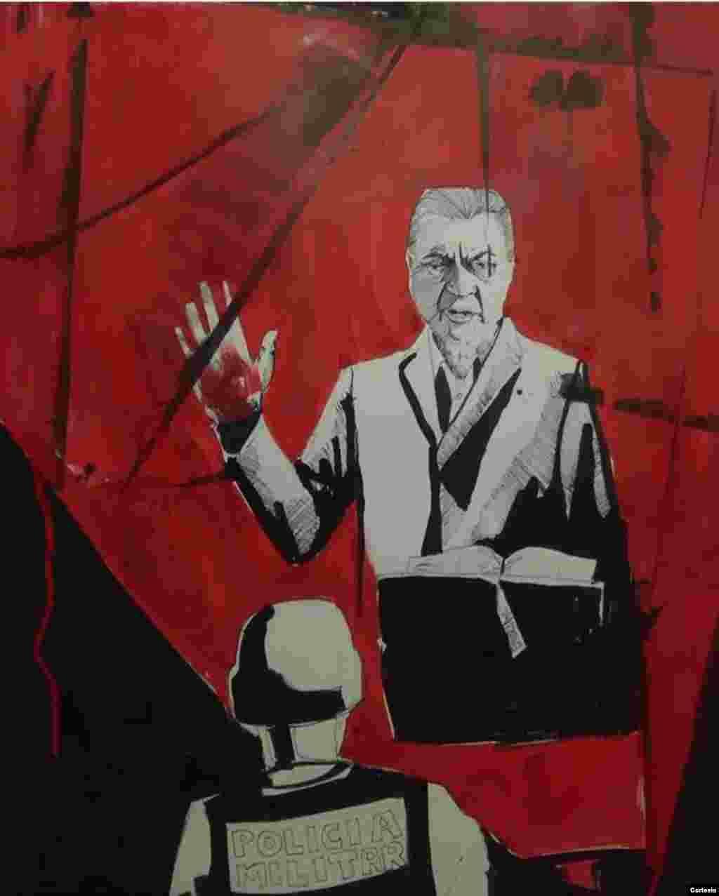 El artista visual e historiador Daniel Valladares considera que ninguno de los dos partidos políticos que están en la pugna por el poder en Honduras van a rendir tributo a las víctimas en la lucha por la democracia.
