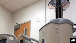 บริษัทเอกชนแห่งหนึ่งในรัฐเท็กซัสคิดค้นเครื่องกำจัดเชื้อจุลินทรีย์ด้วยแสงอัลตร้าไวโอเล็ต