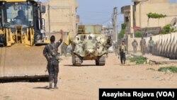 Şervanên Kurd yên Asayîş û YPG li Qamişlo