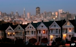 "The colorful Victorian houses in San Francisco are called ""painted ladies."""