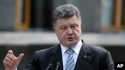 ယူကရိန္းသမၼတ Petro Poroshenko
