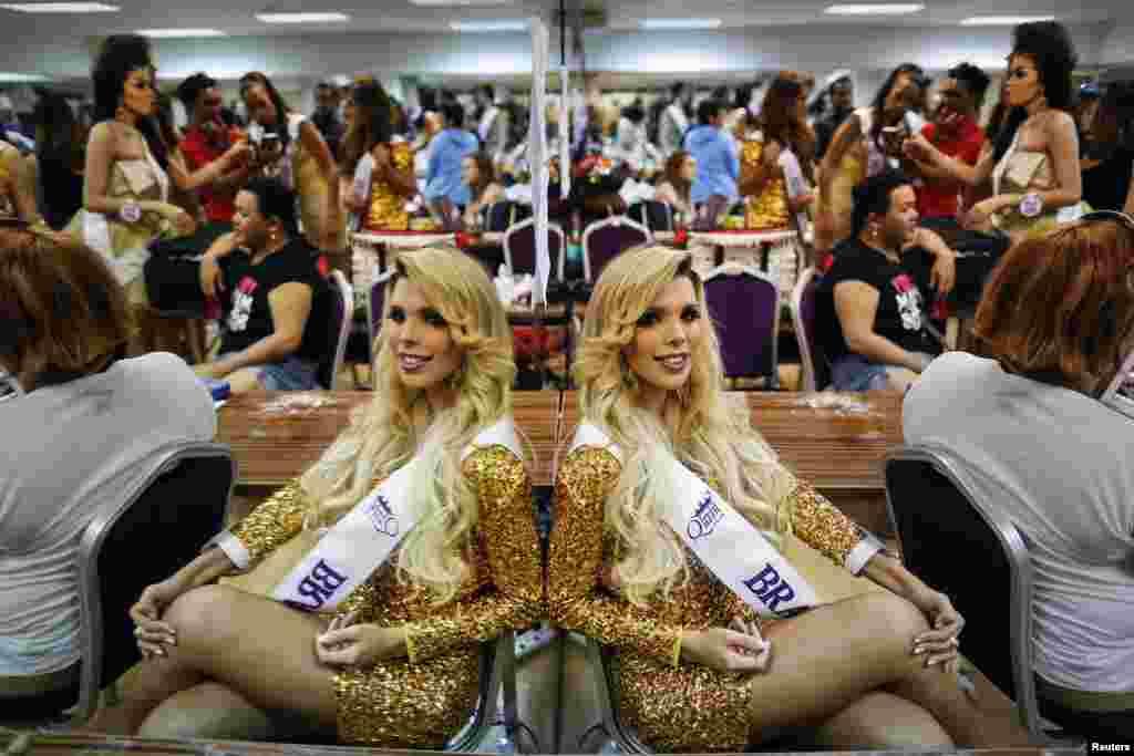 اس مقابلے میں دنیا بھر سے سولہ ممالک سے پچیس خواجہ سراؤں نے شرکت کی۔