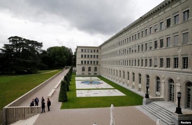 世界贸易组织在日内瓦的总部(2016年6月3日)
