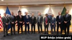Ministar Nebojša Stefanović tokom posete SAD
