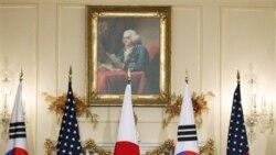 کلينتون: آمريکا، ژاپن و کره جنوبی متحداً با رفتار خصمانه کره شمالی مقابله خواهند کرد